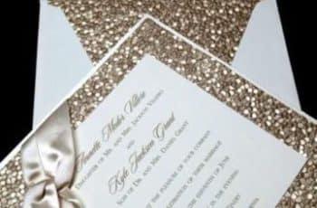 papel texturizado para invitaciones escarchado