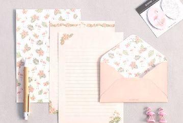 plantillas para cartas de amor de flores