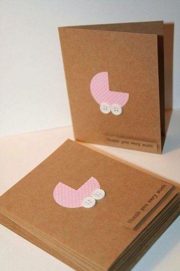 tarjetas en papel madera invitaciones
