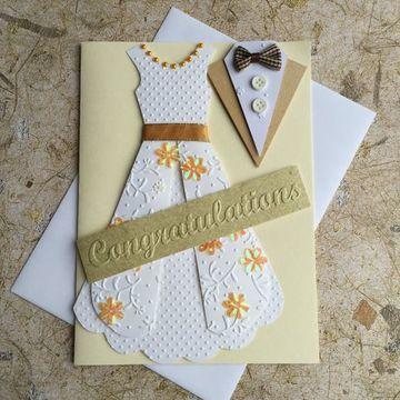 tarjetas hechas con cartulina hechas a mano