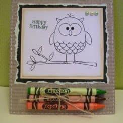 tarjetas hechas con cartulina para niños