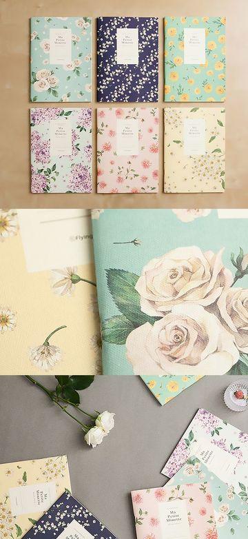 caratulas creativas para cuadernos de flores