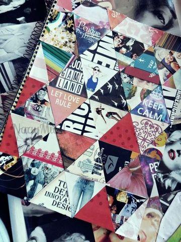 caratulas creativas para cuadernos juveniles