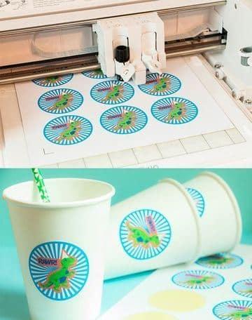 como hacer pegatinas personalizadas impresas y cortadas