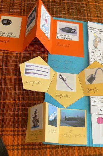 modelos de tripticos escolares de distintas figuras