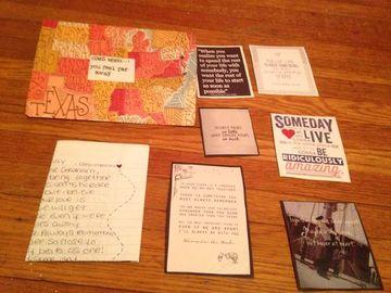 cartas bonitas para novios con recortes
