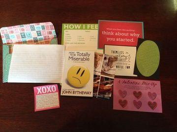 cartas bonitas para novios con sticker