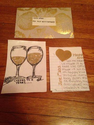cartas bonitas para novios de aniversario