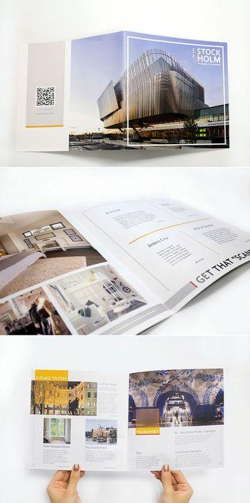 ejemplos de folletos turisticos de Estocolmo