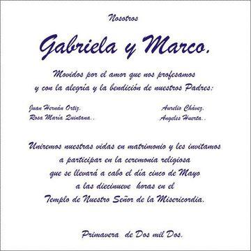 Originales Frases Religiosas Para Invitaciones De Boda