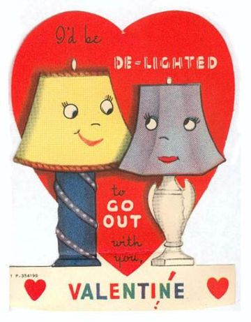 postales del dia de san valentin vintage