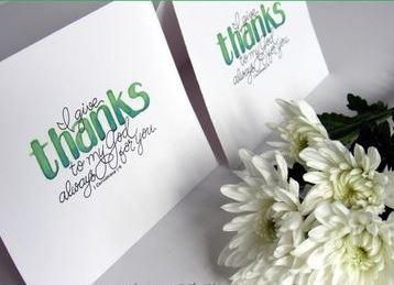 tarjetas de agradecimiento cristianas impresas