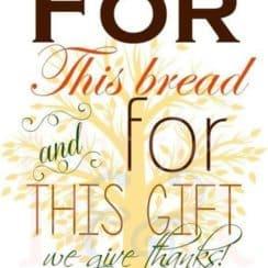 tarjetas de agradecimiento cristianas por los alimentos