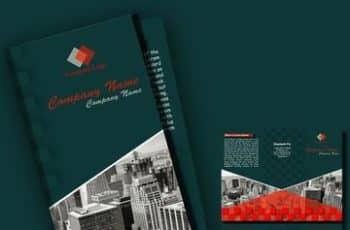 brochure de empresas constructoras modernos