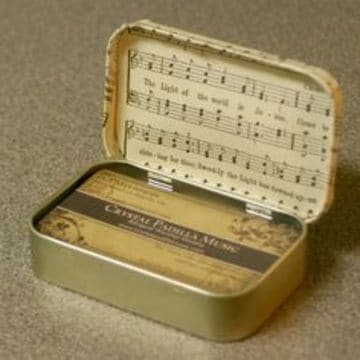 cajas para tarjetas de presentacion de metal