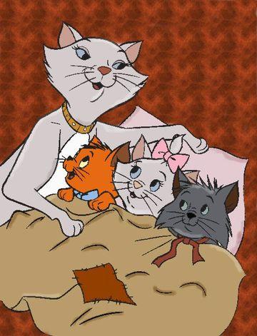 imagenes de gatos en caricatura los aristogatos