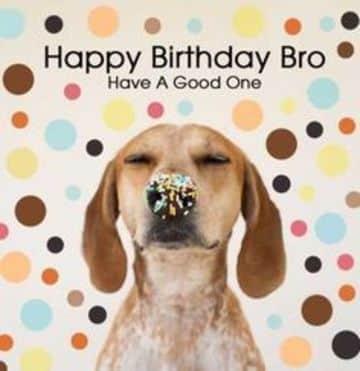 postales de cumpleaños para un hermano graciosas