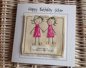 tarjetas de cumpleaños a mi hermana gemela