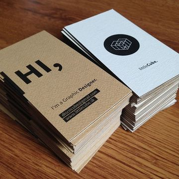 tarjetas personales creativas de diseñador grafico