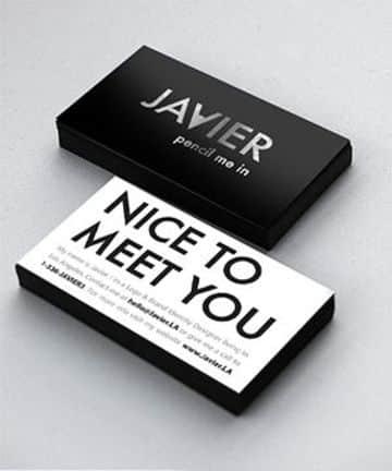 tarjetas personales creativas y originales