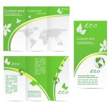 tripticos creativos para editar ecologicos