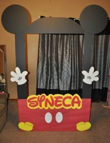 Marcos para fotos de mickey mouse para fiestas