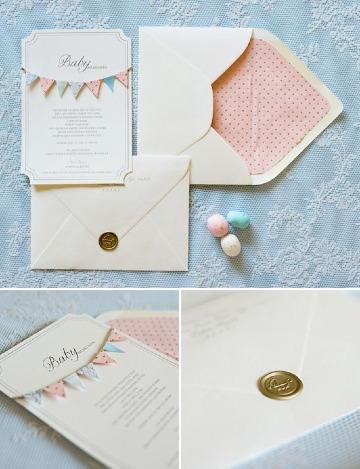 como crear tarjetas de invitacion para baby shower