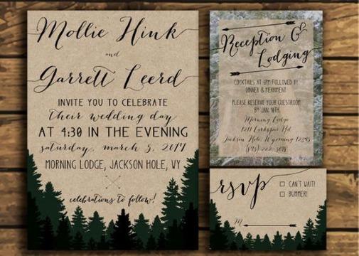 como diseñar invitaciones de bodas faciles