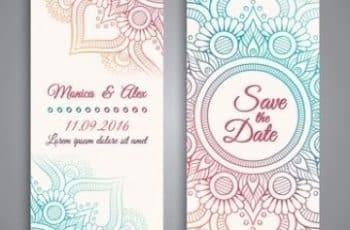 como diseñar invitaciones de bodas sencillas