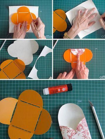 como hacer sobres bonitos de cartulina