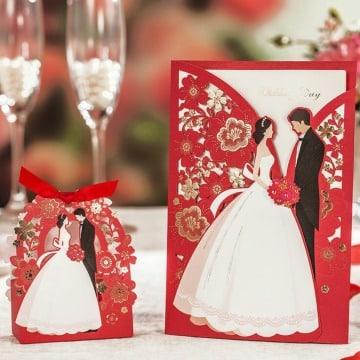 como hacer tarjetas de boda diseños