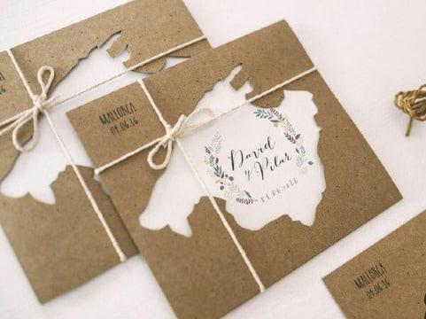 como hacer tarjetas de boda personalizadas