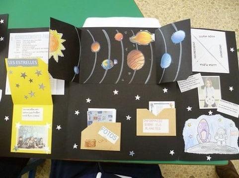 como hacer trabajos creativos escolares