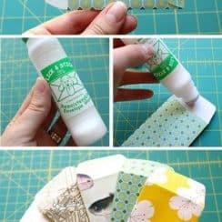 como hacer un sobre con papel miniatura