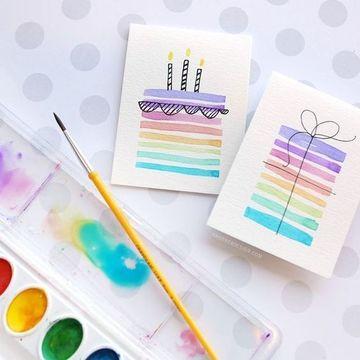 como hacer una tarjeta creativa a mano