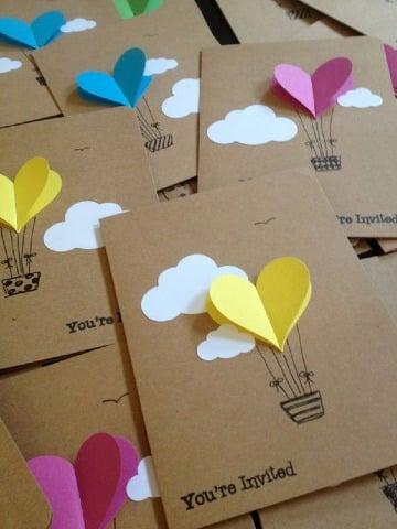 como realizar tarjetas de invitacion para cunpleaños