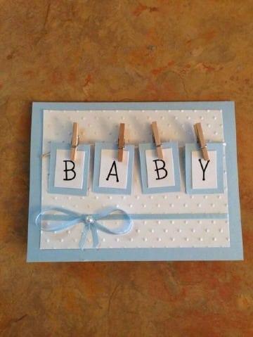diseños de tarjetas para baby shower niño