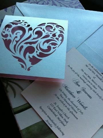 fotos tipos de invitaciones de boda