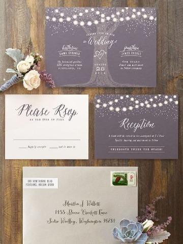 ideas de como diseñar invitaciones de bodas