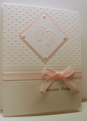 imagenes de diseños de tarjetas para baby shower