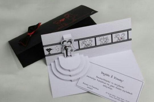 originales invitaciones modernas para boda