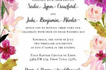 tarjetas de casamiento para imprimir y modificar