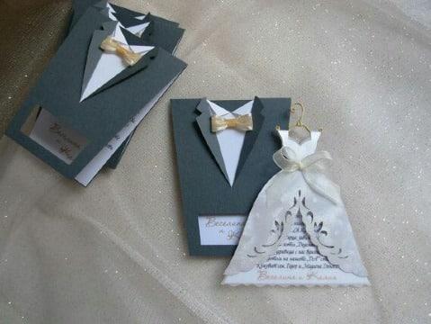 tipos de invitaciones de boda originales
