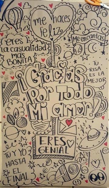 dibujo spara cartas de amor faciles