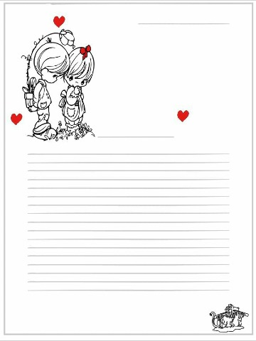 formatos de cartas de amor para imprimir