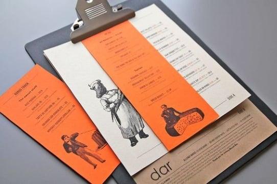 imagenes de modelos de cartas de menu