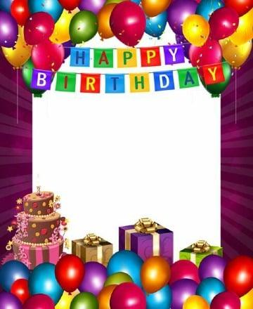 imagenes de tarjetas de cumpleaños con foto