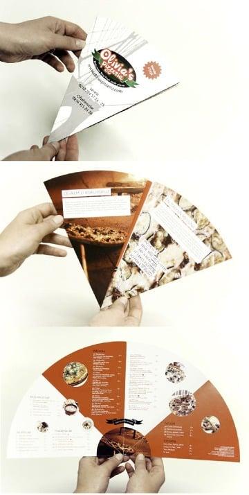 modelos de cartas de menu originales