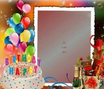 tarjetas de cumpleaños con foto para imprimir