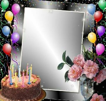 tarjetas de cumpleaños con foto personalizables